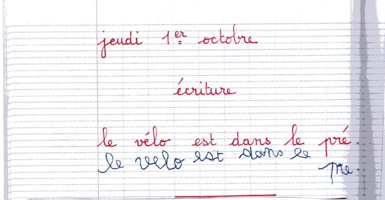leçon orthographe cm2