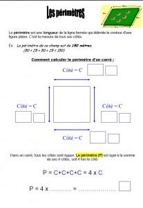 Les périmètres dans Mathématiques perimetre-carre-207x300