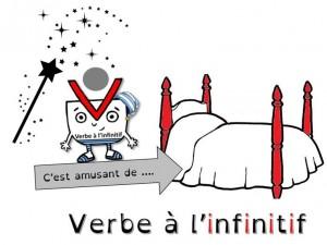 Mettre le verbe à l'infinitif