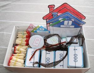 Boite maisons de numération