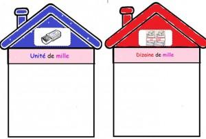 Maisons des classe de mille