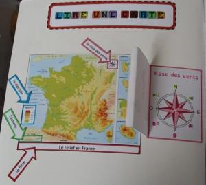 Lire une carte 2