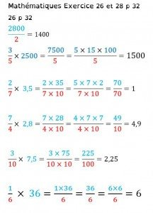 exemple exercice math