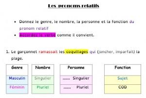 Accorder le verbe en fonction du pronom relatif