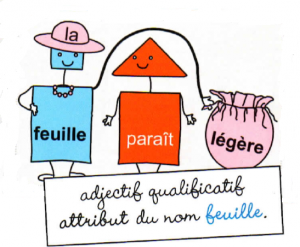 adjectif qualificatif attribut