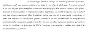Différence entre posturologie et proprioception