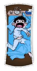 sommeil enfant bave